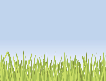 Illustration of about 180 blades of grass Ilustrace