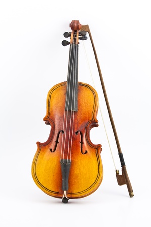 violines: viol�n de copia Foto de archivo