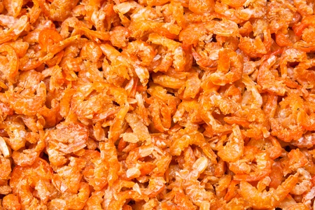 dried salted prawn photo