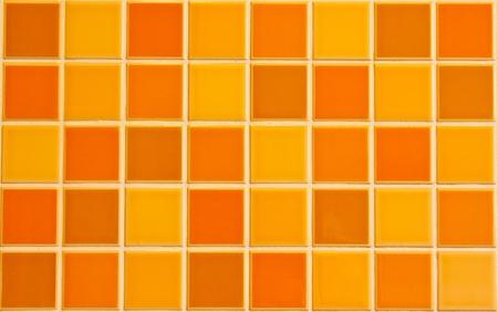 Keramik: Orange Fliese Textur