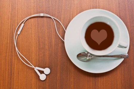 Coffee  and Music Stock Photo - 9799347