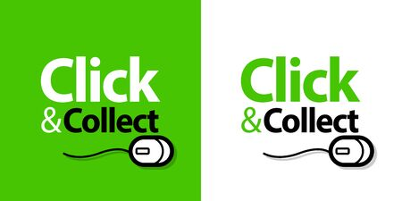Click and collect Illustration