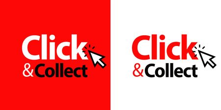 Click and collect Vettoriali
