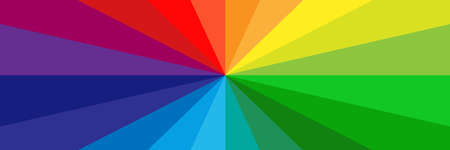 Vector background with multicolored rays Vettoriali