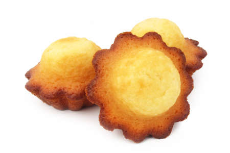 Round Madeleine / Famous French pastry