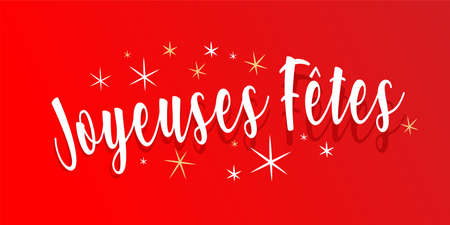"""""""Happy holidays�: Happy holidays in french language"""