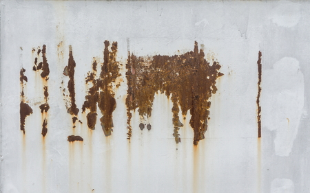 Rusty White Metal wall gray texture background