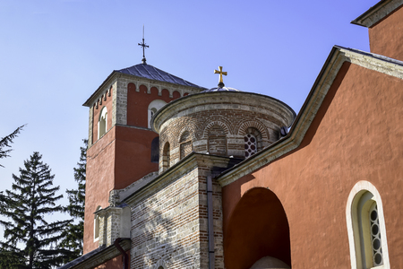 Zica is 13th century monastery in Serbia