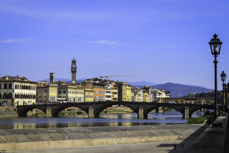 Arno river Florence Stock Photo