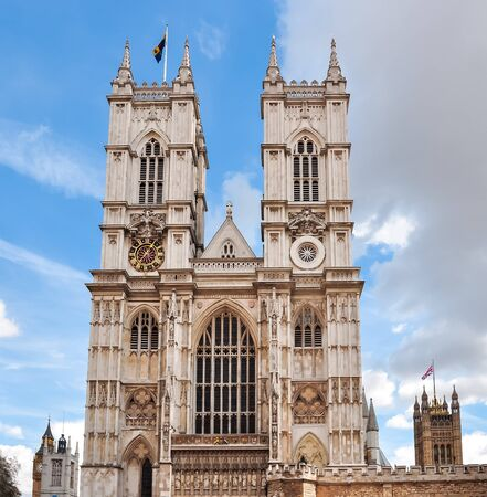 Westminster Abbey, London, United Kingdom of Great Britain and Northern Ireland Stock Photo