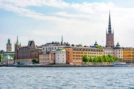Old town (Gamla Stan) cityscape, Stockholm, Sweden