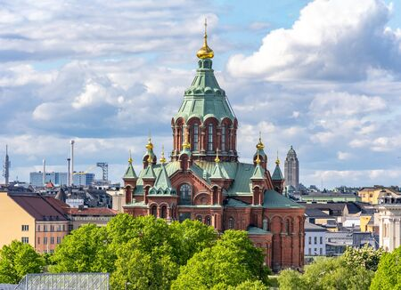 Uspenski-Kathedrale (Uspenskin katedraali), Helsinki, Finnland