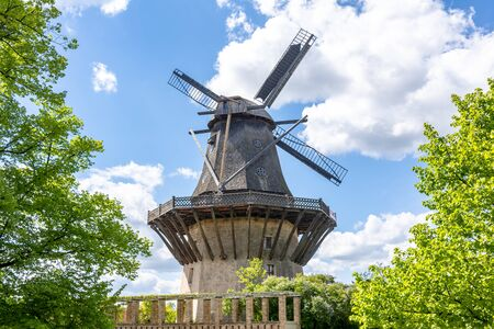 Windmill in Sanssouci park, Potsdam, Germany