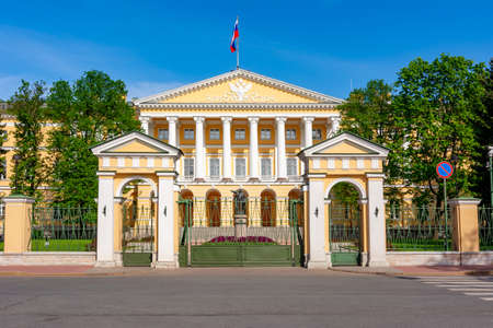 Saint Petersburg administration building (Smolny institute), St. Petersburg, Russia