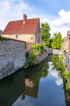 Lake of Love and Beguinage, Bruges, Belgium