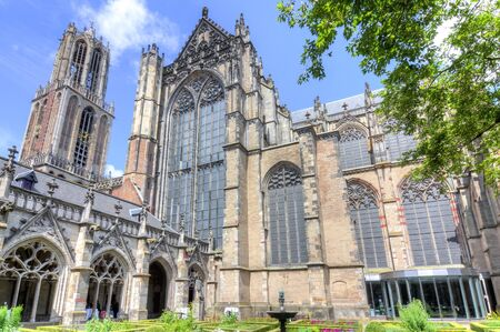 St. Martin's Cathedral and Dom tower, Utrecht, Netherlands