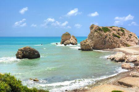 Aphrodite birthplace near Paphos, Cyprus