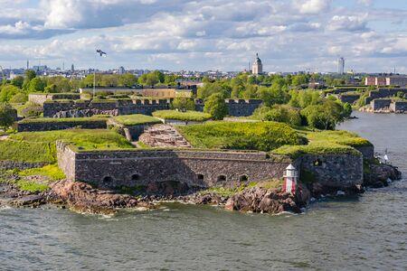 Fortress of Suomenlinna near Helsinki, Finland Banco de Imagens