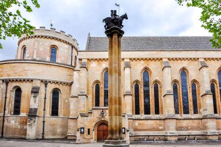 Temple church in London, United Kingdom