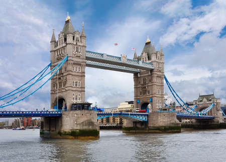 London Tower bridge and Thames river, United Kingdom