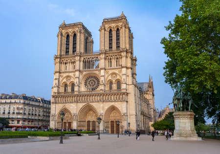 Notre Dame de Paris Cathedral, France
