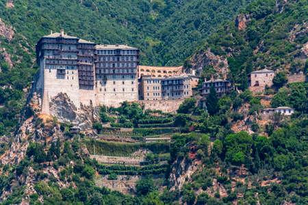 Simonopetra (Simonos Petra) Monastery in Athos, Chalkidiki, Greece