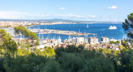 Palma de Mallorca port, Balearic islands, Spain