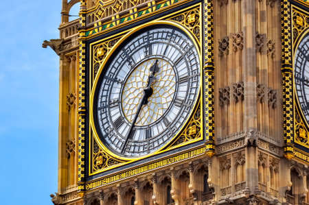 Big Ben tower  in London, United Kingdom Stockfoto