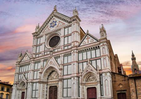 Basilica of the Holy Cross (Santa Croce), Florence, Italy