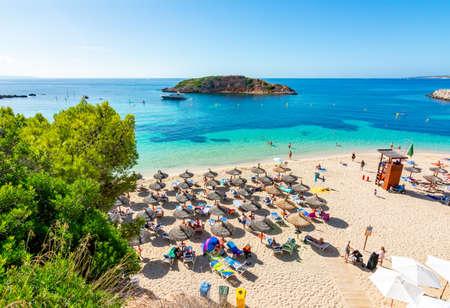 Portals Nous beach (playa) on Mallorca island, Spain