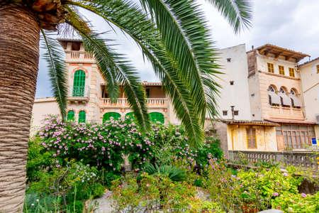 Architecture of Soller town, Mallorca island, Spain