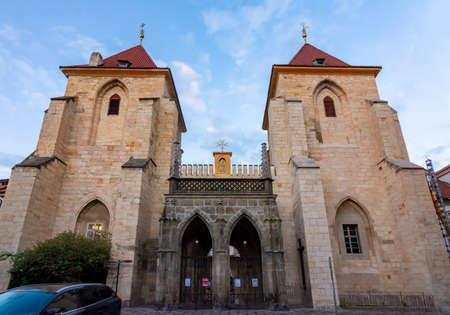 Church of Our Lady beneath the Chain in Prague, Czech Republic