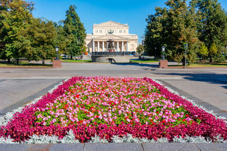 Bolshoi theatre (Big theater) building in Moscow, Russia