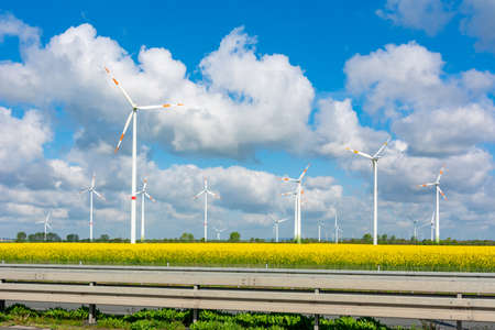 Wind power stations in Germany