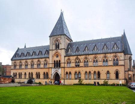 Oxford University Museum of Natural History, UK Redactioneel