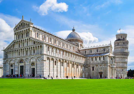 Pisa Cathedral and Leaning Tower of Pisa, Italy
