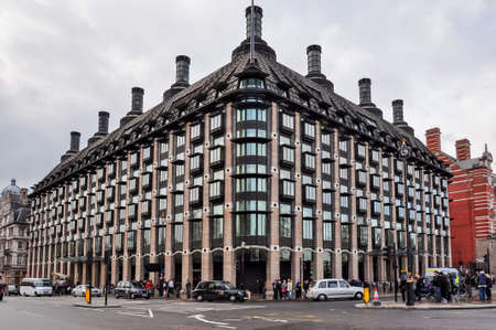 London, UK - May 2019: Portcullis House in city of Westminster