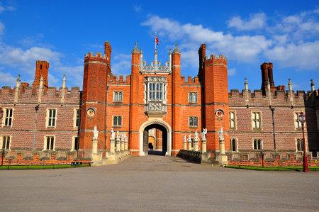 Hampton Court palace and gardens, London, UK