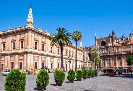 Archive Of The Indies (Archivo General de Indias), Seville, Spain