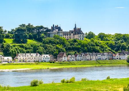 Chaumont-sur-Loire castle in Loire valley, France