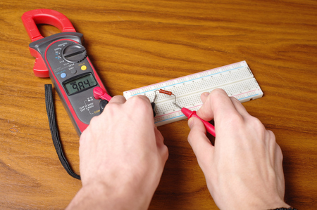 resistance: measurement of electrical resistance