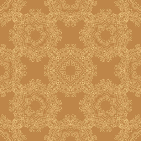 Vector seamless pattern mandala print.Vintage oriental  decorative elements. Hand drawn asian background.Arabic, nepali,Indian, ottoman, tibetan motifs.