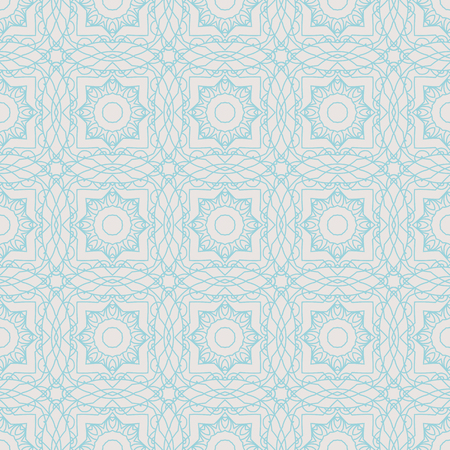 Vector seamless pattern mandala print.Vintage decorative elements.