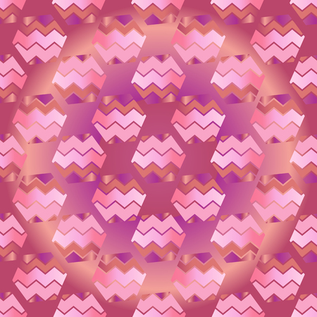 Abstract seamless pattern. Living coral color. Vector illustration. Иллюстрация