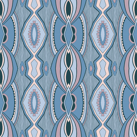 gobelin tapestry: Abstract tribal pattern Illustration