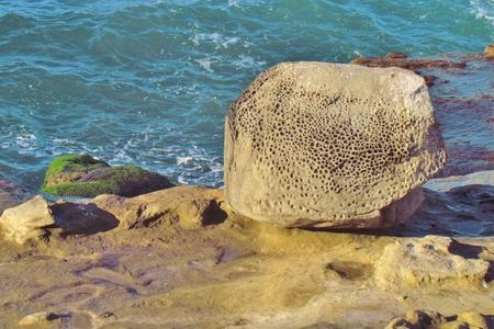oceanside: Rocks Stock Photo