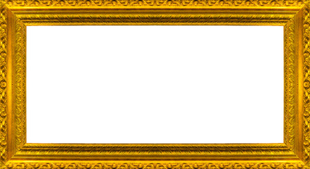 large gold picture frames very big size large golden picture frame with white background clipping
