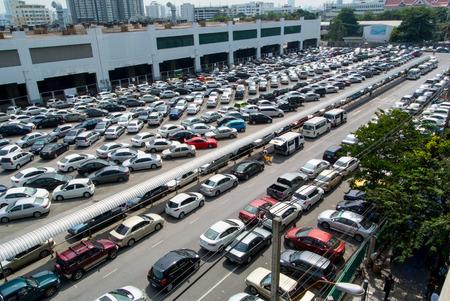carpark: Cars parked