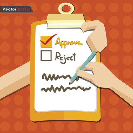 job promotion: Evaluation approve quality check