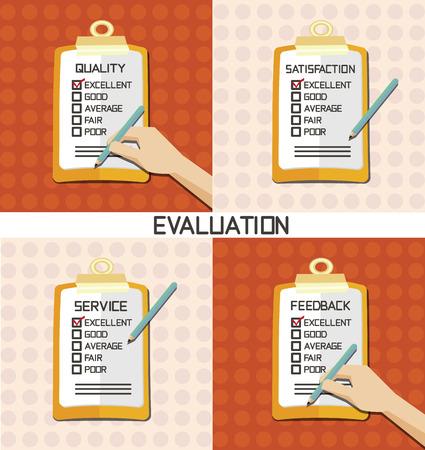 set van evaluatie goedkeuren kwaliteitscontrole